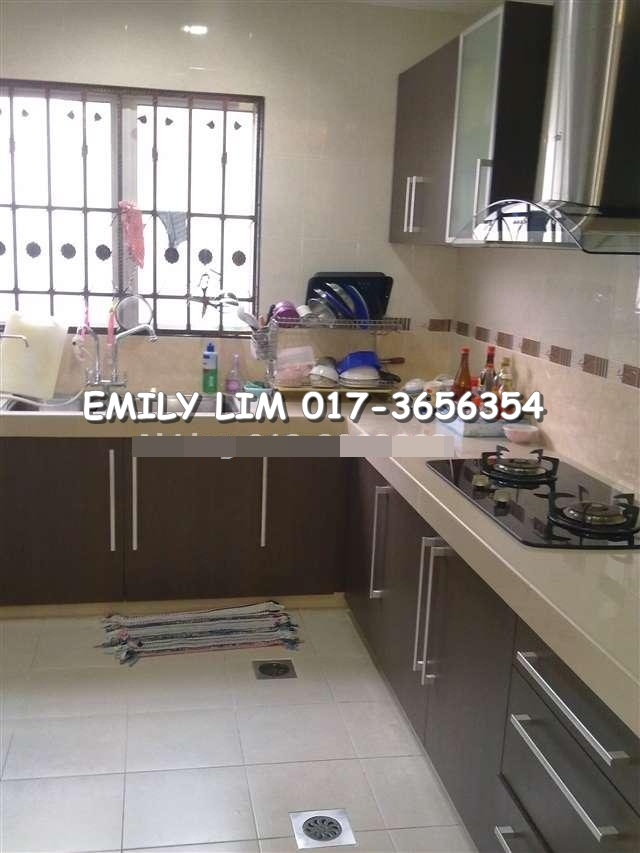 AMBANG BOTANIC, FULLY RENO 2 STRY SUPERLINK HOUSE. RM850,000