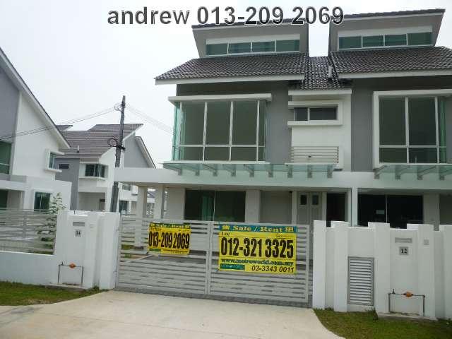 "BANDAR BUKIT RAJA,2-STY LINK HOUSE""ELLIS"",RM458,000"