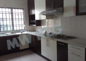 BANDAR BOTANIC, 2 STRY TERRACE FOR RENT. PARTLY FURNISHED. 20X75, RM 1,500 MONTHLY.