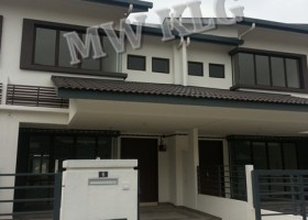BANDAR PUTERI, MURRAYA, BRAND NEW LINK HOUSE. 20X75. RM 650,000