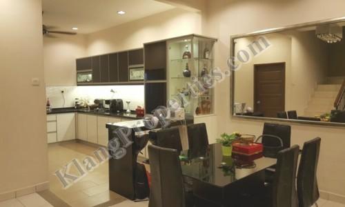 BANDAR PUTERI, 2 STOREY HOUSE, JLN SANGGUL, 22X75 SF.  RM 710,000